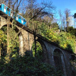 funicular in Ascona