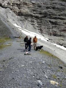 Glacier trail